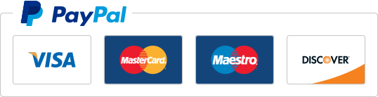 Payment by Credit/Debit Card or PayPal